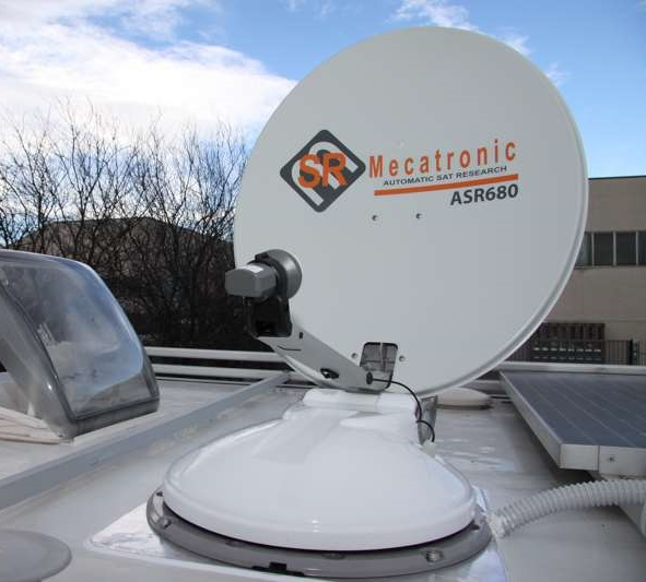 An early SR Mecatronic Dish